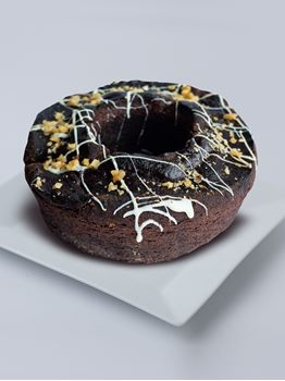 TORTA ARENOSA DE CHOCOLATE CON NUECES