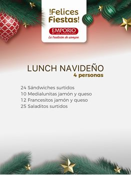 LUNCH NAVIDEÑO